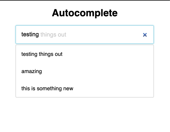 How to make Autocomplete in React.js with Fuse.js